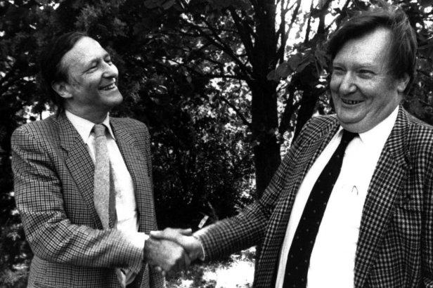 Simon van der Meer and Carlo Rubbia